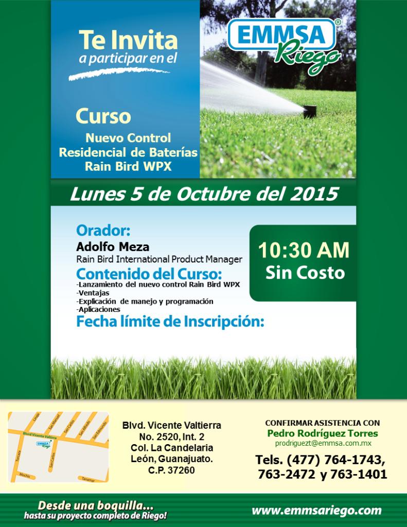 Invitacion Leon Octubre 2015